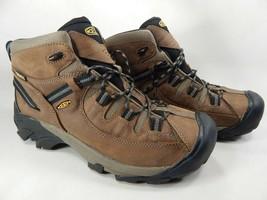 Keen Targhee II Mid Top Sz 11 M (D) EU 44.5 Men's WP Hiking Boots Brown 1008418