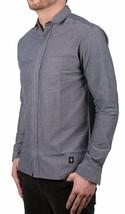 Akomplice VSOP Clean Patrick Long Sleeve Charcoal Grey Button Up Down Shirt NWT image 2