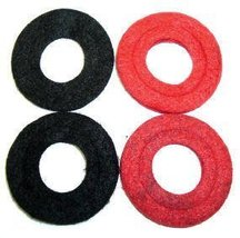 A-Team Performance Battery Anti Corrosion Washers — Red and Black — Pack of 4 image 1