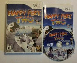 Happy Feet Two Nintendo Wii 2011 COMPLETE  - $7.69
