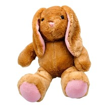 Build A Bear Workshop Bunny Rabbit Stuffed Animal Pawlette Tan Pink Plush 15'' - $20.78
