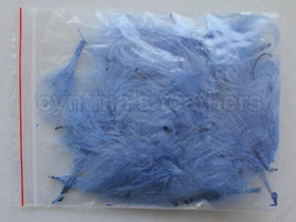 """Chocolate Brown 1~3/"""" Turkey Marabou Feathers for crafting 8g 1//4Oz+ 50~70pcs"""