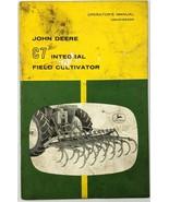 VTG John Deere Operators Manual C7 Integral Field Cultivator Farm Equipment - $21.77