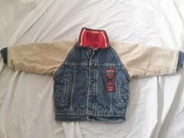 VTG 80s Little Levis Hall of Fame Denim Jean Trucker Jacket Toddler Kids... - $49.50