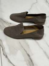 Lucky Brand Women's Cahill Shoe Size 8.5M Taupe Slip On Leather Flat - $32.65