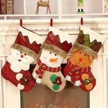 LazyisHouse® Gift Bag Hot Creative Christmas Decorations Santa Sacks Sno... - $13.12