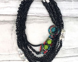 Gorgeous Treska Gallery Collection Short Multi-Strand Glass Bead Necklace - $36.46