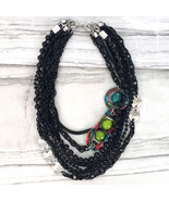Gorgeous Treska Gallery Collection Short Multi-Strand Glass Bead Necklace - $42.90