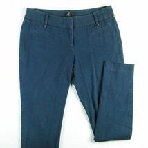 Alfani Women's Stretch Pants Navy Blue Dress Ca... - $10.69
