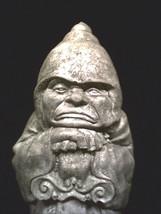 Grumpulous Monk The Reluctant Guardian Garden Statue Grumpy Medieval Guard  - $59.95