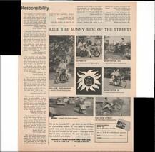 Harley-Davidson Motor Company 1960 Vintage Antique Motorcycle Advertisement - $1.28