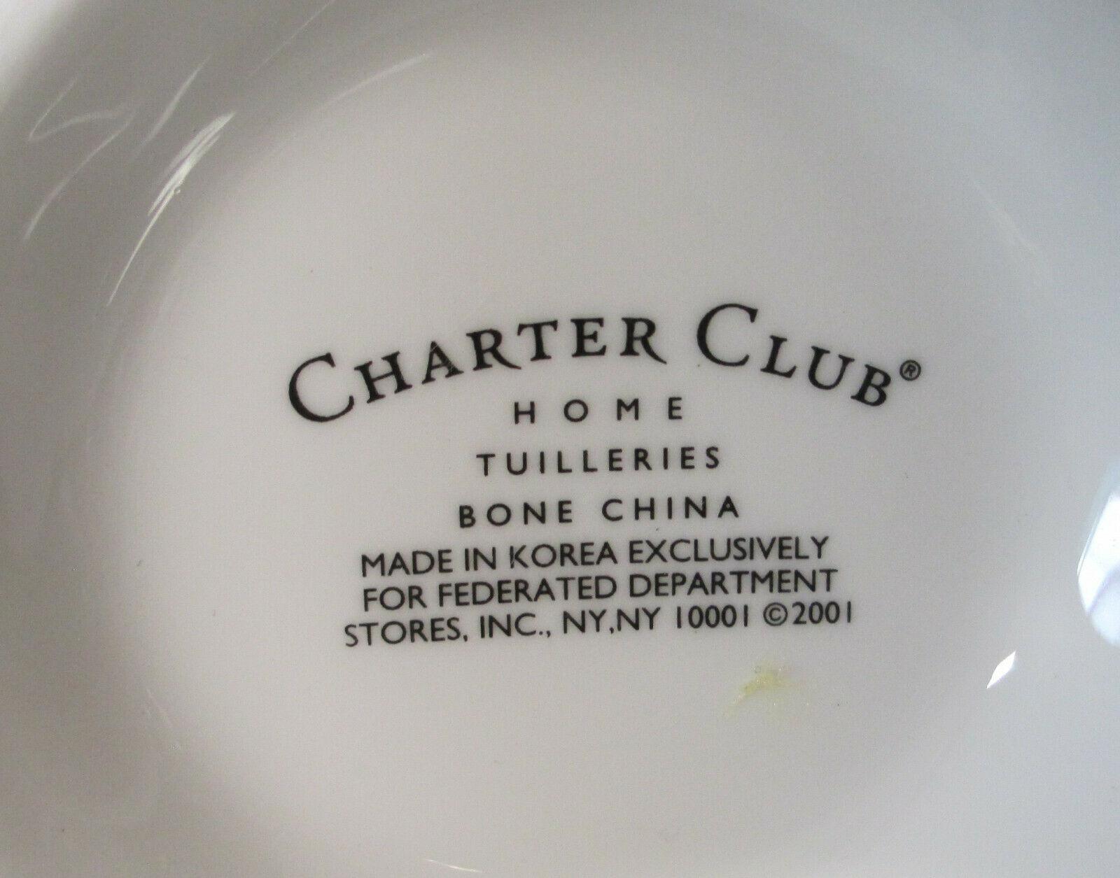 Charter Club Tuilleries Cream Tall Mug, Pair