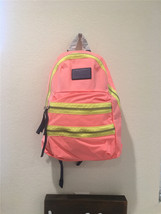 Marc by Marc Jacobs Nylon Packrat FLUORO CORAL Backpack M0002219B - $182.33