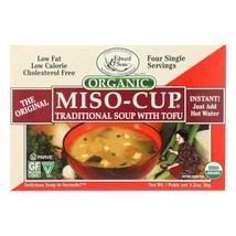 Edward And Sons Organic Traditional Miso - Cup - Case Of 12 - 1.3 Oz. - $52.97