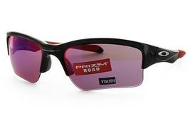 Oakley Quarter Jacket Sunglasses OO9200-18 Polished Black W/ PRIZM Road YOUTH - $64.34