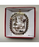 Alabama State Landmarks Brass Ornament - $14.95