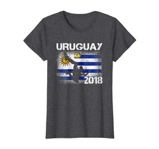 Sport Shirts - Soccer Jersey Uruguay T-Shirt Football Team World Flag Cu... - $19.95+