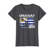 Sport Shirts - Soccer Jersey Uruguay T-Shirt Football Team World Flag Cu... - $19.95+