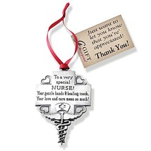 Cathedral Art CO764 Nurse Occupation Ornament, 2-1/4-Inch - $7.26