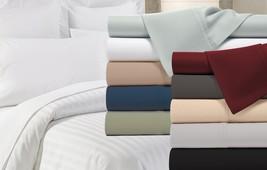 Park Avenue 300 Thread Count 100% Cotton Percale Sheets Set - 10 Colors - $23.74+