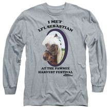 I met Lil Sebastian T-shirt Parks  Recreation long sleeve graphic tee NBC481 image 1
