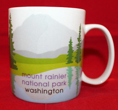 Starbucks 2007 Mount Rainier National Park Washington Coffee Mug Cup 18 ... - $56.14