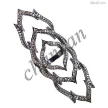 Antique Vintage Look 2.70Ct Rose Cut Diamond 925 Silver Full finger Ring... - $8.403,33 MXN