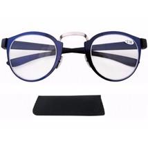 Glasses Reading Women Presbyopic Round Elegant Lady Eyeglass Round Spect... - $10.49