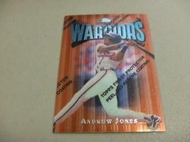 1997 Topps Finest w/peel #100 Andruw Jones -Atlanta Braves- - $3.12