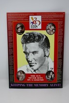 Elvis Presley Keeping the Memory Alive Metal Tin Sign Picture Wall Decor  - $13.29