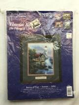 Thomas Kinkade The Painter of Light Cross Stitch Candamar Designs Beacon... - $11.29