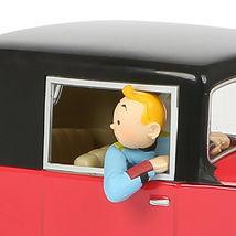 THE ROSENGART GET-AWAY CAR 1/24 VOITURE TINTIN CARS THE BROKEN EAR NEW 2019 image 3