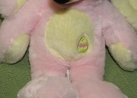 DISNEY STORE BABY Pink Easter Bunny & Mrs. Santa Claus Minnie Mouse Plush Dolls image 4
