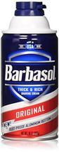 Barbasol Shave Regular Size 10z Barbasol Shave Cream Regular 10oz pack of 2 image 10