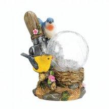 Songbirds Solar Lamp Garden Yard Patio - $21.77