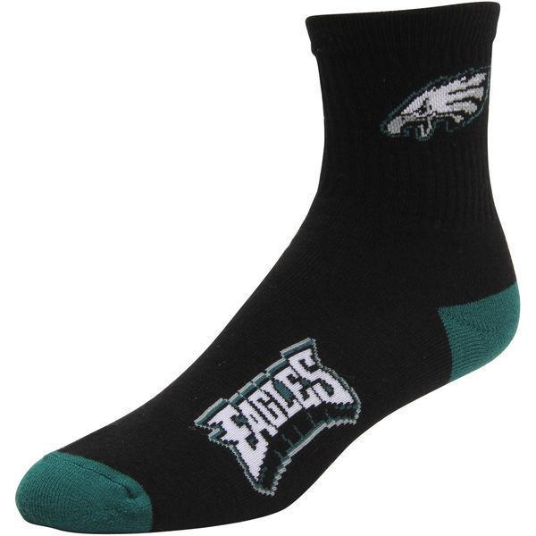 Youth Philadelphia Eagles NFL For Bare Feet Quarter Socks