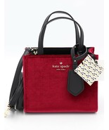 NWT Kate Spade New York Thompson Street Red Velvet Small Sam Tote Satche... - $198.00