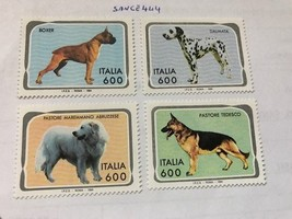 Italy Dogs mnh 1994   stamps - $2.95