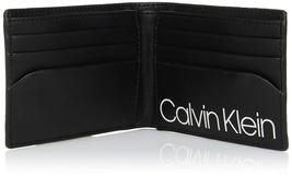 Calvin Klein CK Men's Genuine Leather Slimfold Embossed Logo Wallet 79814 image 5