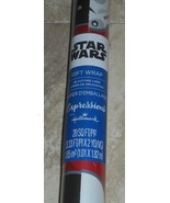 Hallmark Disney Star Wars Storm Troopers Christmas Wrapping Paper 20 sqf... - $6.50