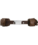 Captain America Steven Rogers Red PU Leather Belt Captain America Cospla... - $35.99
