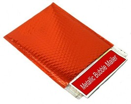 Metallic Glamour Bubble Mailers Padded Shipping Mailing Envelopes Bags R... - $63.75