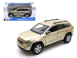 2011 Jeep Grand Cherokee Gold 1/24 Diecast Model Car by Maisto - $50.99