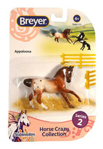 Breyer Stablemates Horse Crazy: Appaloosa Figurine New in Package - $9.88