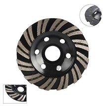 "4"" Diamond Turbo Grinding Cup Wheel Double Row Coarse Grit forfor Angle Grinder"