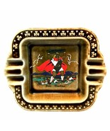 Vintage Irish Porcelain Ashtray Finn MacCoul Wade Pottery Ireland 6.25 i... - $34.64