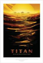 Nice NASA Visions of the Future Titan Poster - $39.00
