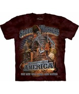 The Mountain Steel Workers John Lean T-Shirt, Small, Wine - $13.50