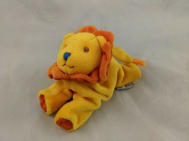 "Gymboree Lion Plush Orange Beans 5"" Stuffed Animal Toy - $9.95"