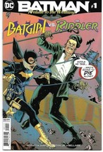BATMAN PRELUDE TO THE WEDDING BATGIRL VS RIDDLER #1 (DC 2018) - $4.59